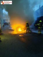 Fahrzeugbrand Gartenstraße 12.09.2021